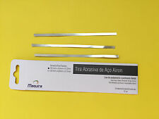 Dental Instruments, Tira Stain Steel Abrasive Strips Airon Pkt Of 12 pcs 125mm