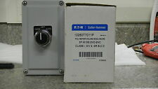 Eaton Cutler Hammer 10250T7011P Poly Control Station,3 Pos Switch, Class 1 Rated