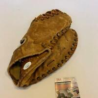 Bill Moose Skowron Signed Vintage 1950's Game Model Glove With JSA COA