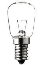 Glühlampe Glühbirne 24V 15W E14 28x64 mm klar Speziallampe Niedervolt