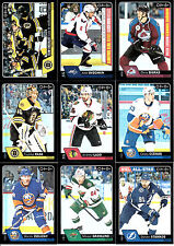 2016-17 OPC BLACK RAINBOW LOT (13) # 603 ALEX OVECHKIN