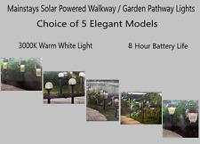 Mainstays Solar Powered Walkway / Garden Pathway Lights