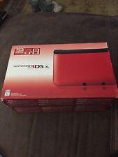 Nintendo 3DS XL Red & Black Handheld FACTORY Brand NEW!