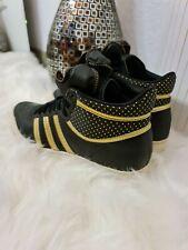 Adidas Sneakers Sneaker High Top Sport Freizeit Schuhe 40 Gold