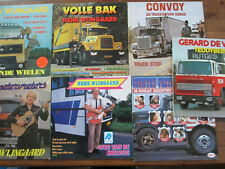 lot of 7 lp records with TRUCKS on the sleeves, truck driver music