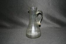 ancienne petite carafe verseuse verre soufflé Normandie fin XVIII début XIX ème
