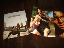 """UNBROKEN 2 Oscar ads Jack O'Connell as Louis """"Louie"""" Zamperini, Angelina Jolie"""