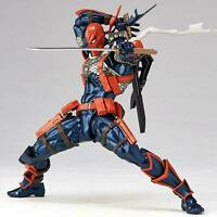 DC Deathstroke Amazing Action Figure Toy Gift w/Accessory Set & Stand Figurine