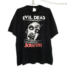 Vintage Evil Dead Horror Movie Promo T-Shirt Size Xl Halloween Friday the 13th