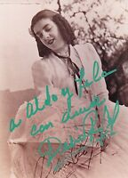 DELIA RIGAL opera soprano signed photo as Violetta