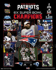 52f29163a60 New England Patriots Super Bowl 53 Championship Picture Plaque