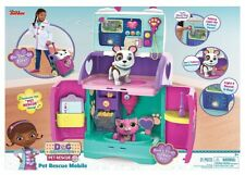 Doc McStuffins Baby All in One Nursery Pet Rescue Mobile Car 3+ Play Doll Bag