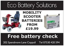 Mobility Scooter Battery 12Volt  35Ah  Free fitting in the Chorley area