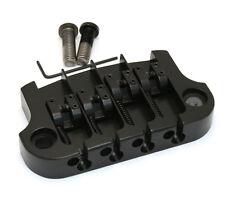 Hipshot Black SUPERTONE 3-point Bridge for Gibson® Epiphone® Bass 5G400B
