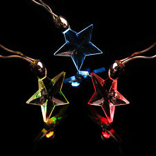 8PACK MultiStyles LED Magnetic Flashing Light Necklace for Party Xmas Supplies