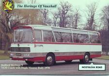 1970 Bedford VAM Coach YXE844H Duple Viceroy body unused Nostalgia Road postcard