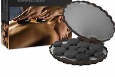 ZENSTONE Pro Waterless System + 12 Pro-Grade Hot Stones Onyx Black