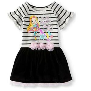 Toddler Girls SUNNY DAY Dress  Tutu Skirt Size 3T 4T 5T NWT Nickelodeon