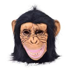 Adulte Animal Chimpanzé Singe Masque Costume Déguisement Accessoire