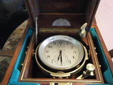 Hamilton Model 21 Ships Chronometer double boxed detent escapement,helical Hspg!