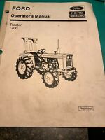 Ford New Holland Tractor 1700 Operator's Manual