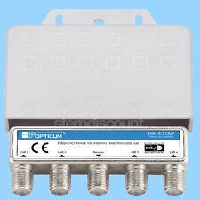 Opticum DiSEqC Schalter 4/1 Switch Umschalter HDTV 4-1 verteiler umschalter SAT