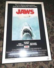 "JAWS - 3D Lenticular Plex 4mm Poster Print 24"" x 36"" Roger Kastel with Frame"