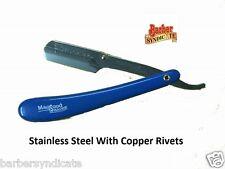 MAQSOODStainless Steel Straight Edge Barber Razor,BLADE,SHAVING RAZOR EXPORTQLTY
