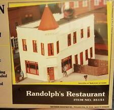 "BACHMANN PLUS N scale ""RANDOLPH'S RESTAURANT"" PLASTIC MODEL KIT 35151"