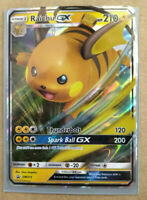 Pokemon Raichu GX SM213 Holo Promo Rare Card - Mint Mint Mint $2 Coupon