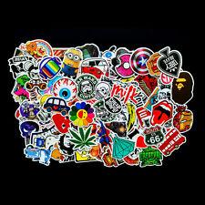 100X Car Auto Skateboard Skate Laptop Luggage Suitcase Sticker Bomb Vinyl Decal