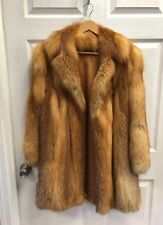 Beautiful Red Fox Fur Coat by Annette Studdert