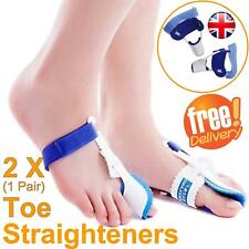 Toe Straightener Soft Corrector Protector Splint Cushion for Bunion Pain Relief