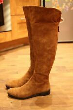 Pied a Terre Suede Tan Knee-High Boots UK6
