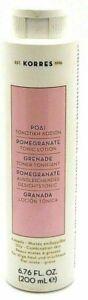 Korres Pomegranate grenade Toner Oily Combination Skin type 6.76 oz Read Info