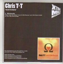 (AK784) Chris T-T, Nintendo - DJ CD