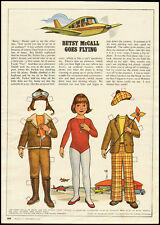1978 vintage magazine paper doll, Betsy McCall Goes Flying  -061512