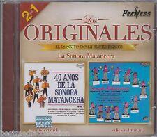 La Sonora Matancera CD NEW 2 En 1 LOS ORIGINALES Peerless SEALED
