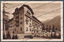 TRENTO LEVICO TERME 27b VETRIOLO - HOTEL ALBERGO Cartolina viaggiata 1952