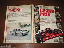 LIBRO/BOOK=WELCOME TO GRAND PRIX=1978=MONDO FORMULA 1=LAUDA=HUNT=FERRARI=ECT..