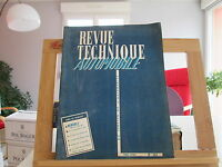 REVUE TECHNIQUE AUTOMOBILE N°157 MAI 1959 BE/TBE RENAULT 1000 1400