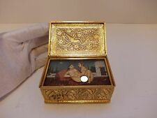 ANTIQUE MUSICAL EROTIC KAMASUTRA AUTOMATON CLOCKWORK MUSIC BOX (WATCH VIDEO)