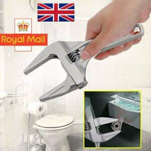 Wrench16-68mm Large Adjustable Opening Bathroom Spanner Wrench Nut Key Hand Tool