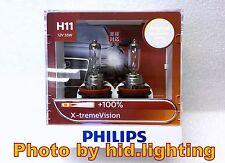 GENUINE Philips X-treme xtreme Vision H11 +100% headlight bulb light 12362 XV