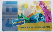 Blockbuster Gift Card Foil Style - Popcorn, Tickets - Movies - 2004 - No Value