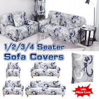 1/2/3/4 Seater Home Elastic Stretch Sofa Chair Covers Slipcover Protector Settee
