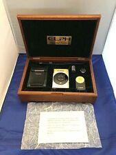Canon Elph 60th Anniversary Gold Limited Edition Aps Film Camera Rare Complete