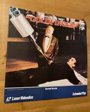 Goldfinger James Bond 007 - Laserdisc - VERY GOOD CONDITION !