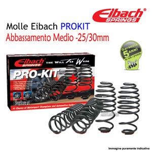 Molle Eibach PROKIT -25/30mm PEUGEOT 208 1.6 HDi / BlueHDi 75 Kw 55 Cv 75
