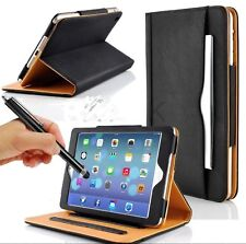 Cover custodia in pelle per vari modelli Apple Ipad 2 3 4 pro + pellicola+penna